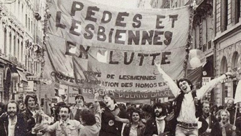 manifestation FHAR mai 1971 Paris