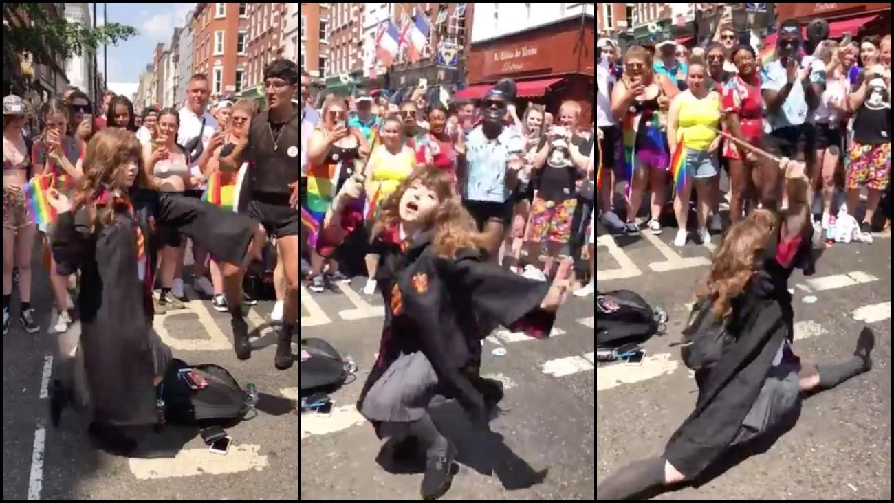 Cette hermione qui danse est certainement le meilleur moment de la pride de londres - Qui est hermione granger ...