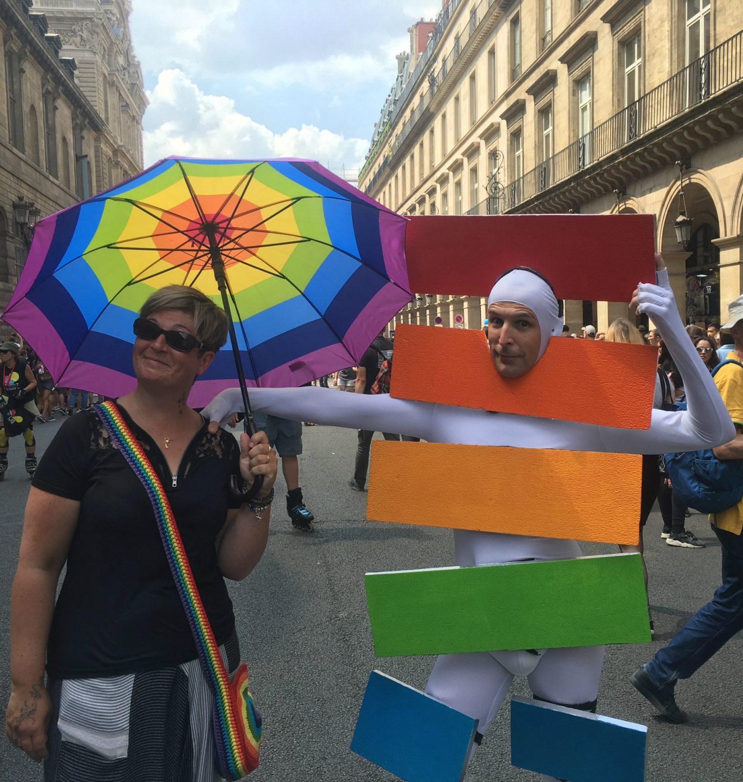 Marche des fiertés Paris 2018 - Philippe Peyre DR