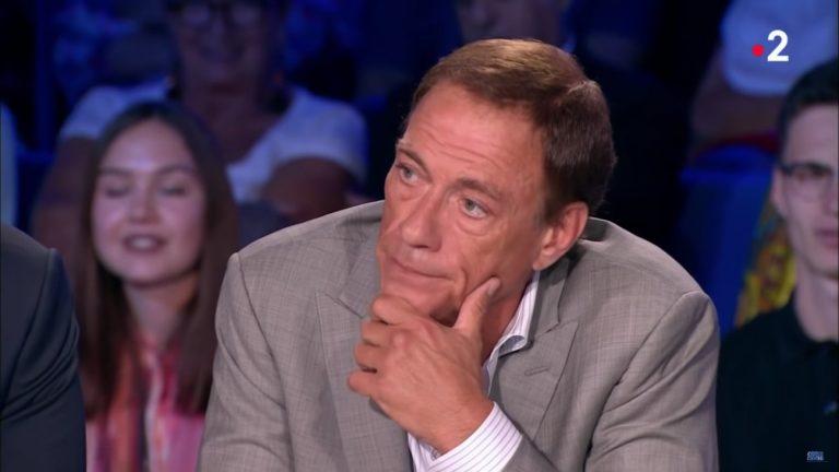 Jean-Claude Van Damme dans « On n'est pas couché » samedi 30 juin - Capture d'écran YouTube