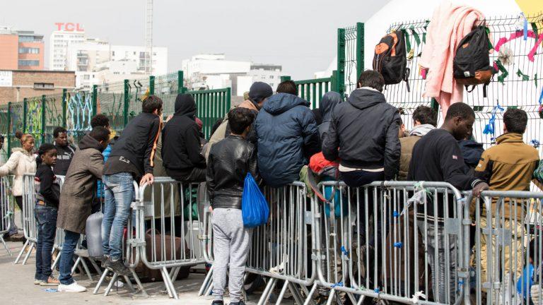paris migrants vih
