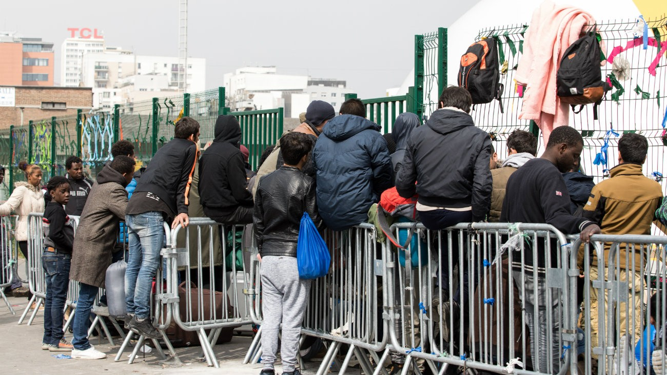 paris migrants vih