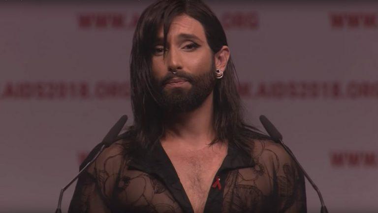 Revivez le discours émouvant de Conchita Wurst à la Conférence internationale sur le sida