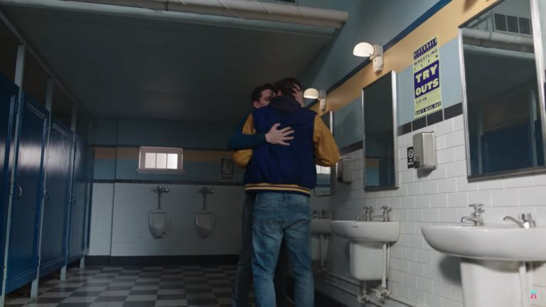 kevin keller moose mason kiss gay scene riverdale