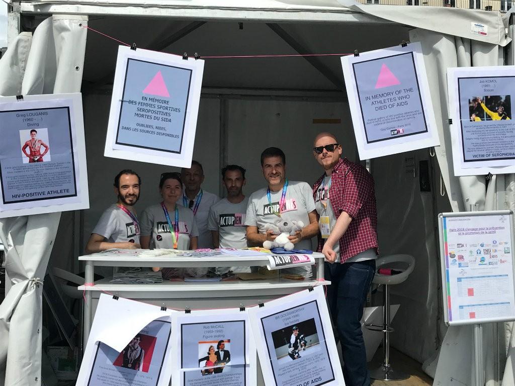 ActupienNEs Gay Games mémorial sida