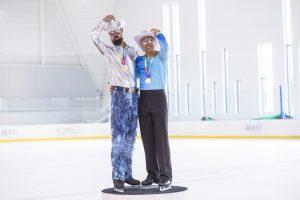 gay games paris 2018 patinage artistique ancienne et nouvelle génération patineurs patineuses médailles prix podium