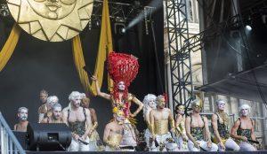 spectacle danse cérémonie cloture gay games paris 2018
