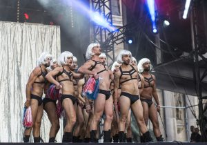 spectacle danse cérémonie cloture gay games paris 2018
