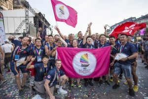 Gay Games Paris 2018 fin dans quatre ans Gay Games 2022 Hong Kong