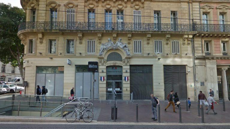 Le commissariat du 1er arrondissement à Marseille