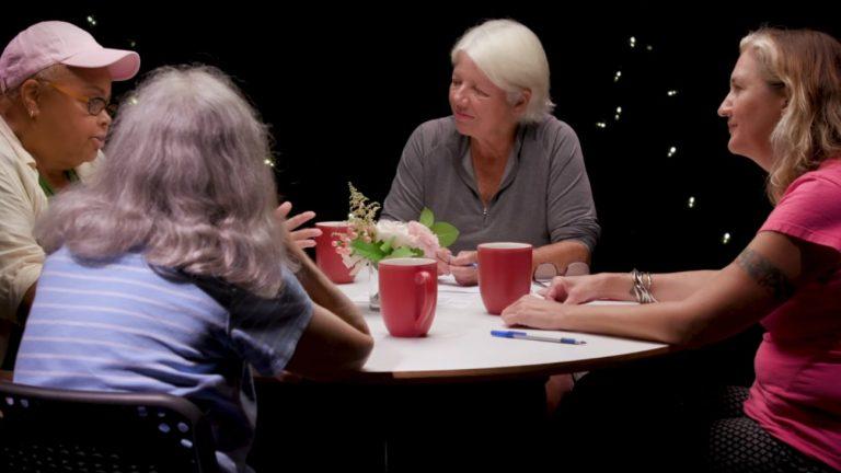 quiet heroes documentaire table ronde héroines silencieuses lesbiennes années 80 90 impliquées lutte contre le vih
