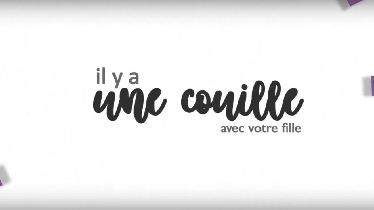 """Audrey chaîne YouTube Audr XY """"il y a une couille avec votre fille"""" ressource vidéo intesexe francophone"""
