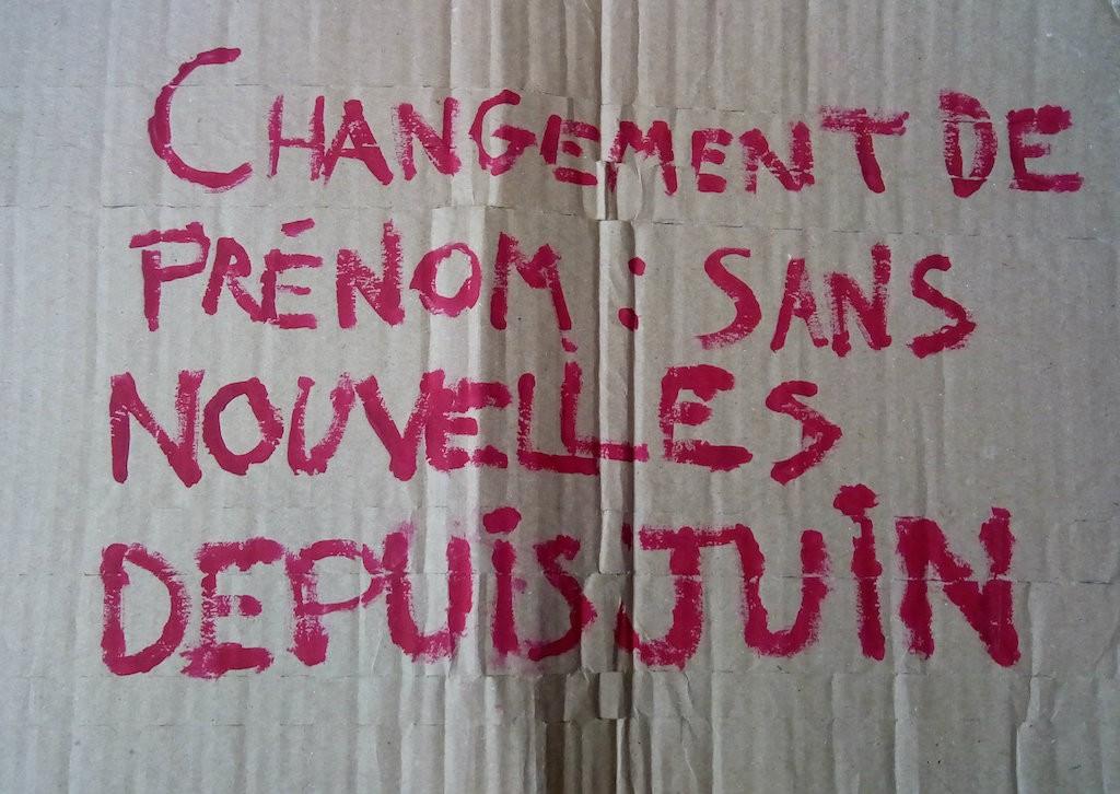 «Changement de prénom : sans nouvelles depuis juin » - Yasmina Cardoze / Komitid
