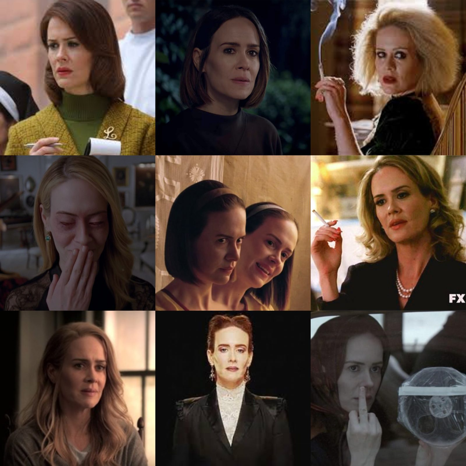 Paulson personnages American horror story