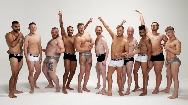 campagne sous vêtements masculins inclusif hommes trans racisés vieux gros body positive représentations diversité
