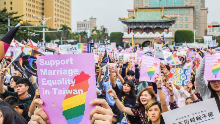 Taïwan mariage gay