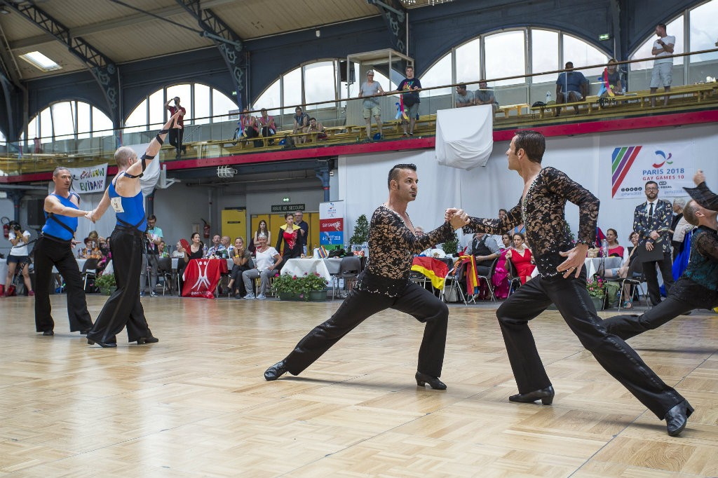 Gay Games danse hommes