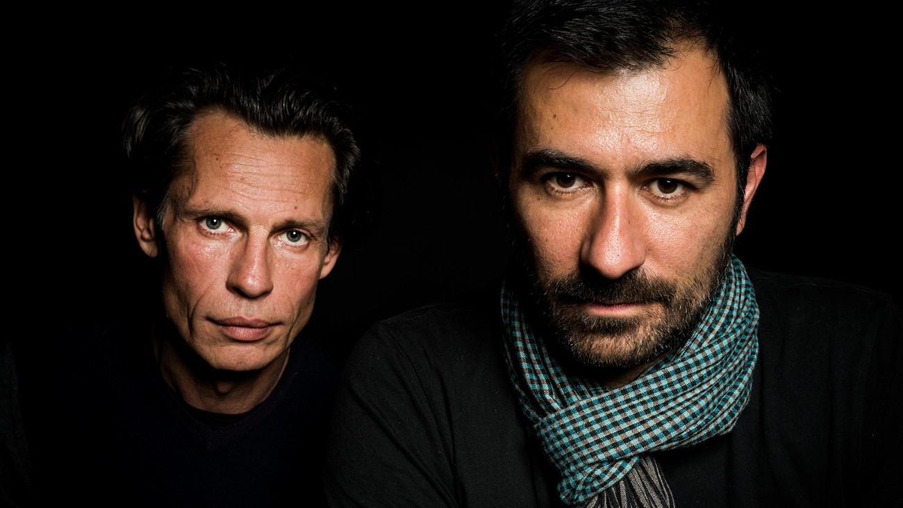 Nathan Nicholovitch et David D'Ingéo pour Avant l'aurore