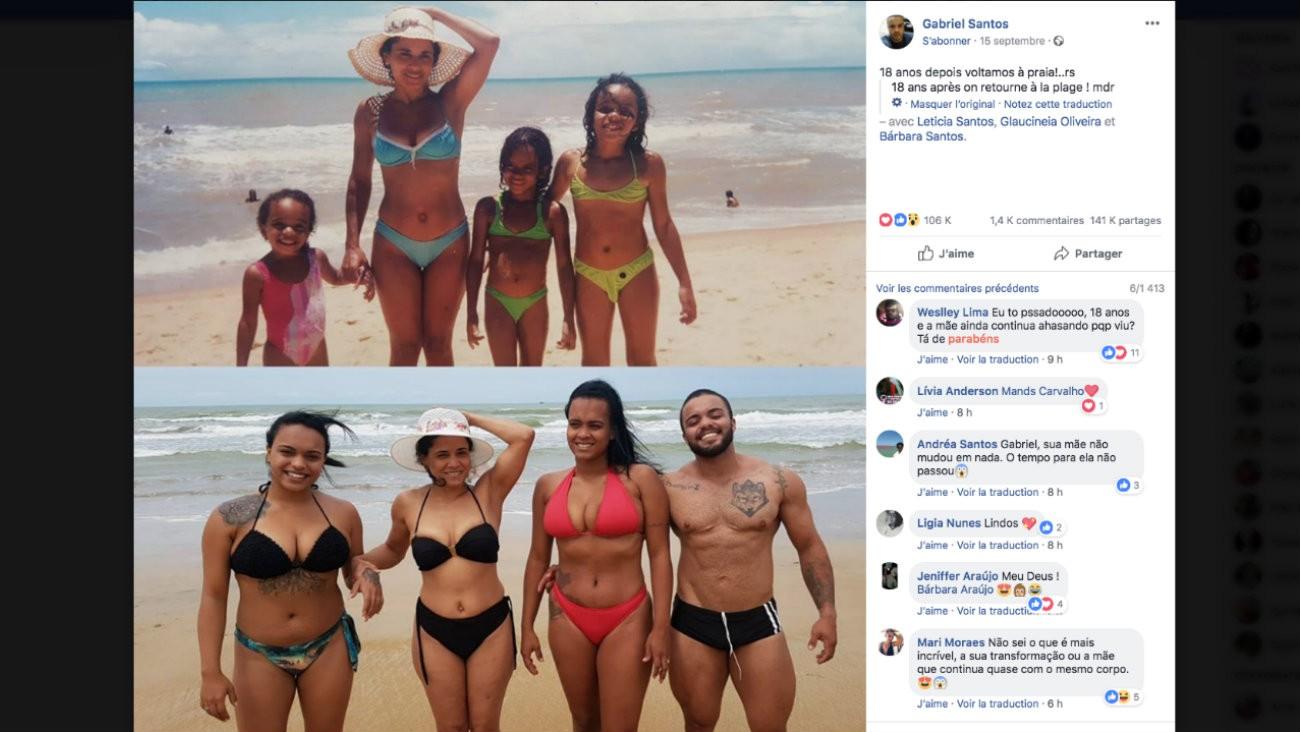 Les photos de famille à la plage avant-après de cet homme trans font le buzz sur les réseaux sociaux, entre commentaires transphobes et soutiens pleins de bienveillance