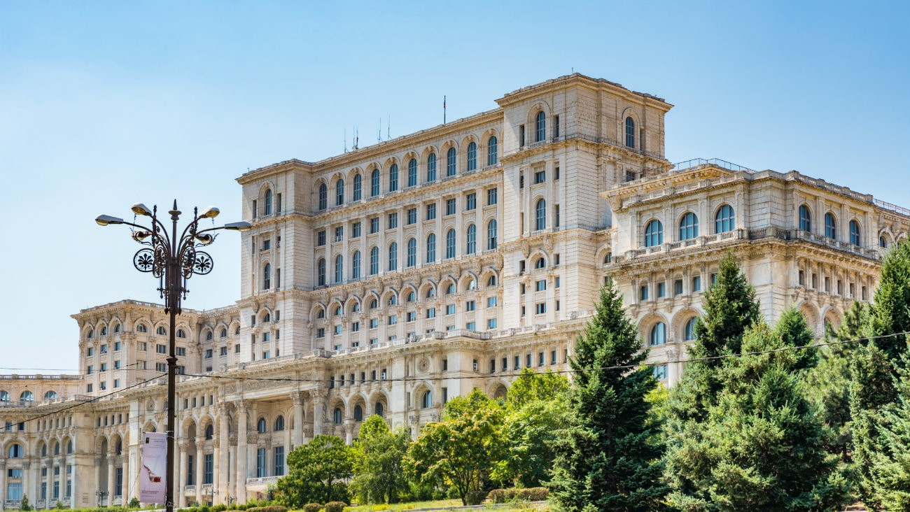 Le Parlement roumain, à Bucarest - Takashi Images / Shutterstock