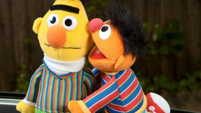 Berte Ernie Sesame Street