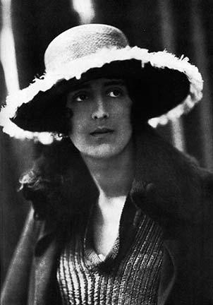 Portrait de Vita Sackwille West en 1919