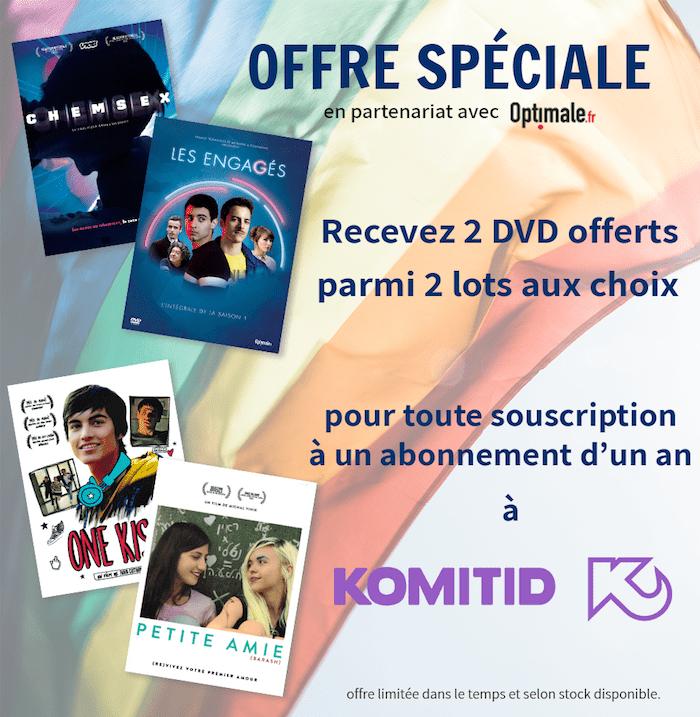Offre spéciale 2 DVD pour un abonnement A an
