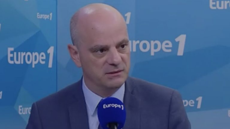 Le ministre de l'Éducation nationale Jean-Michel Blanquer - Capture d'écran Europe 1 / Dailymotion