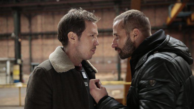 Reda Kateb et Matthias Schoenaerts dans « Frères Ennemis »