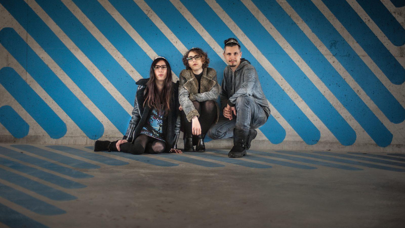Diane Landais, Myriam Houali et Simon Bachelier du studio Accidental Queens