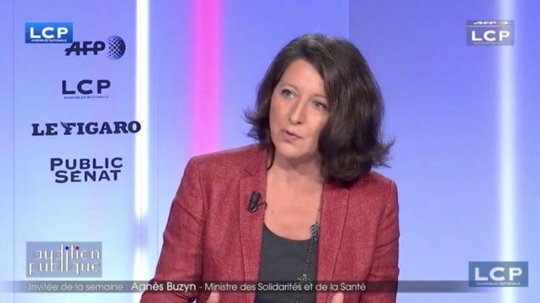 La ministre des Solidarités et de la Santé Agnès Buzyn sur LCP lundi 5 novembre - Capture d'écran / LCP Assemblée nationale