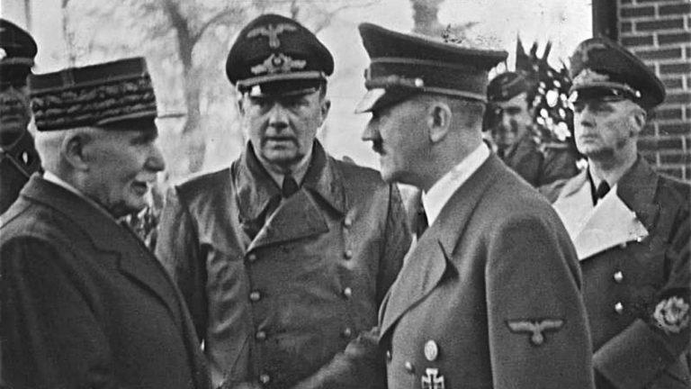 marechal petain macron grand soldat vichy guerre du rif chemin des dames loi homophobe 1942