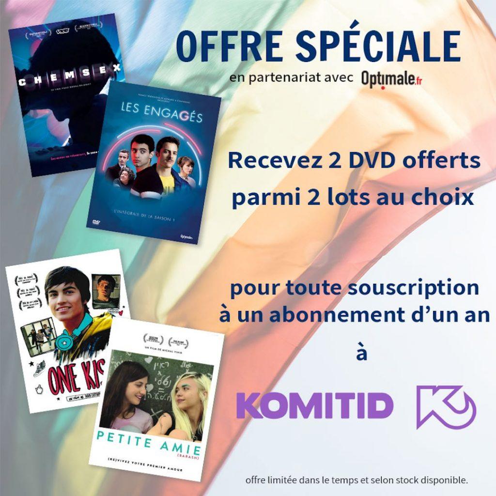 Offre abonnement + 2 DVD