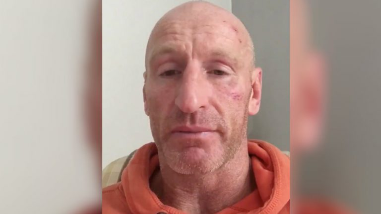 L'ex-capitaine de l'équipe de rugby du Pays de Galles, Gareth Thomas, a été victime d'une agression homophobe - Featureflash Photo Agency / Shutterstock
