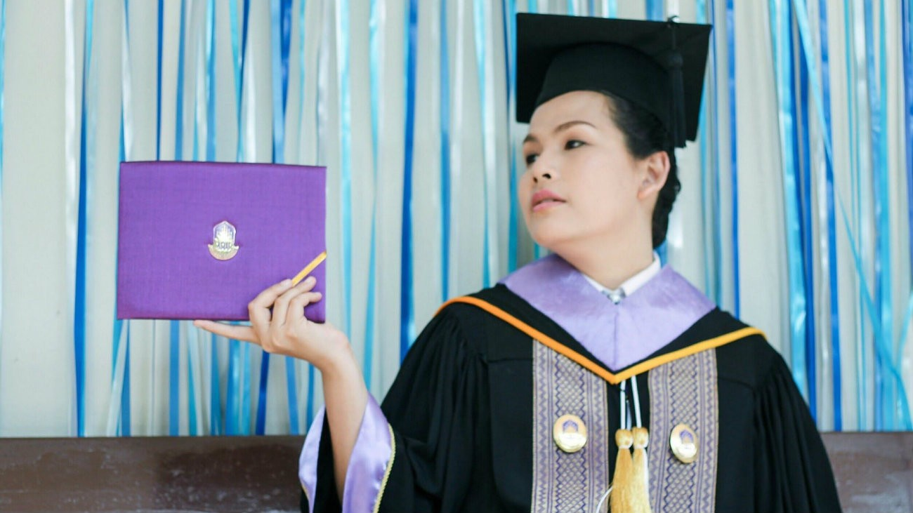 L'activiste trans thaïlandaise Nada Chaiyajit écume les conférences comme porte-parole des revendications des personnes LGBT+