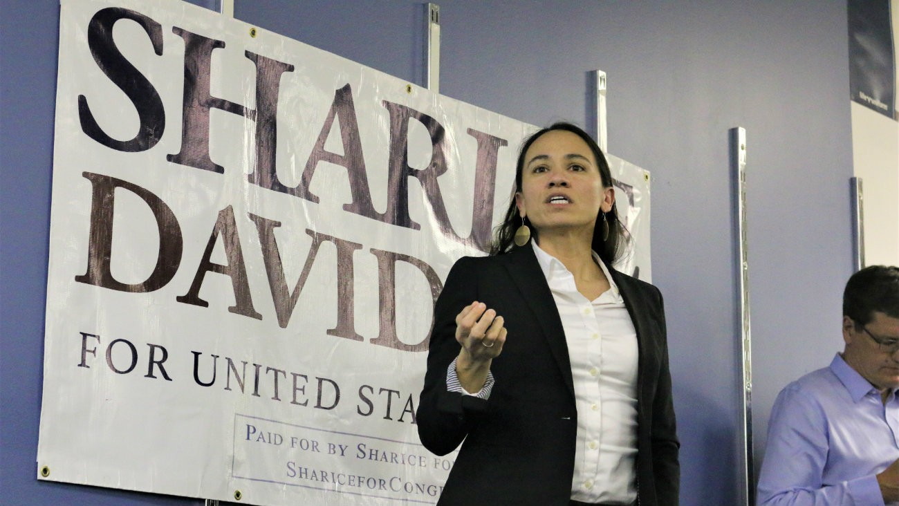 sharice davids midterms