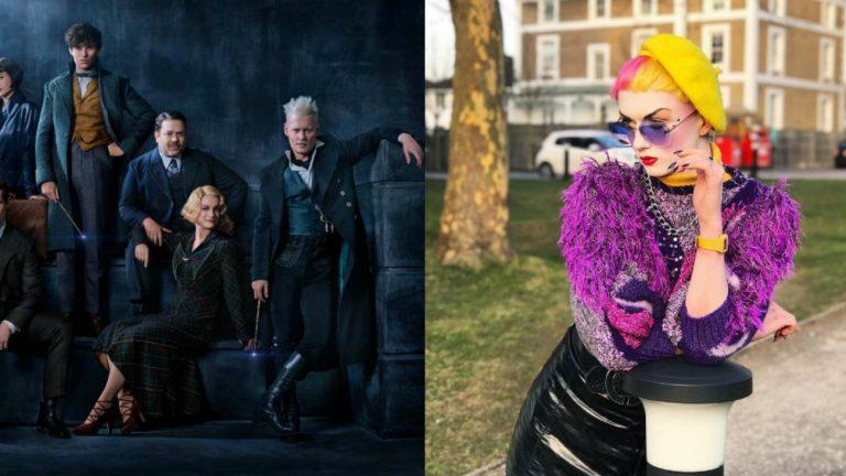 animaux fantastiques crimes de grindelwald dumbledore mannequin non-binaire jamie windust denonce coulisses tournage lgbtphobes sexistes temoignage