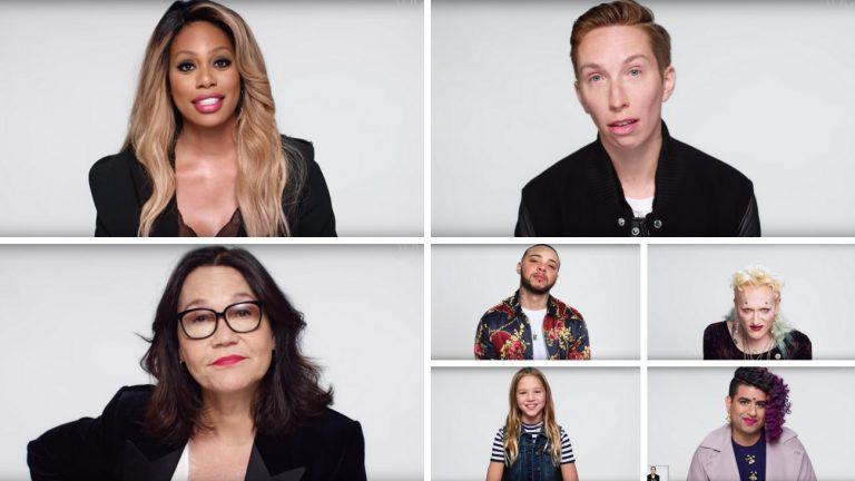 we won't be erased 42 personnes trans et non-binaires prennent la parole dans une video coup de point de british vogue