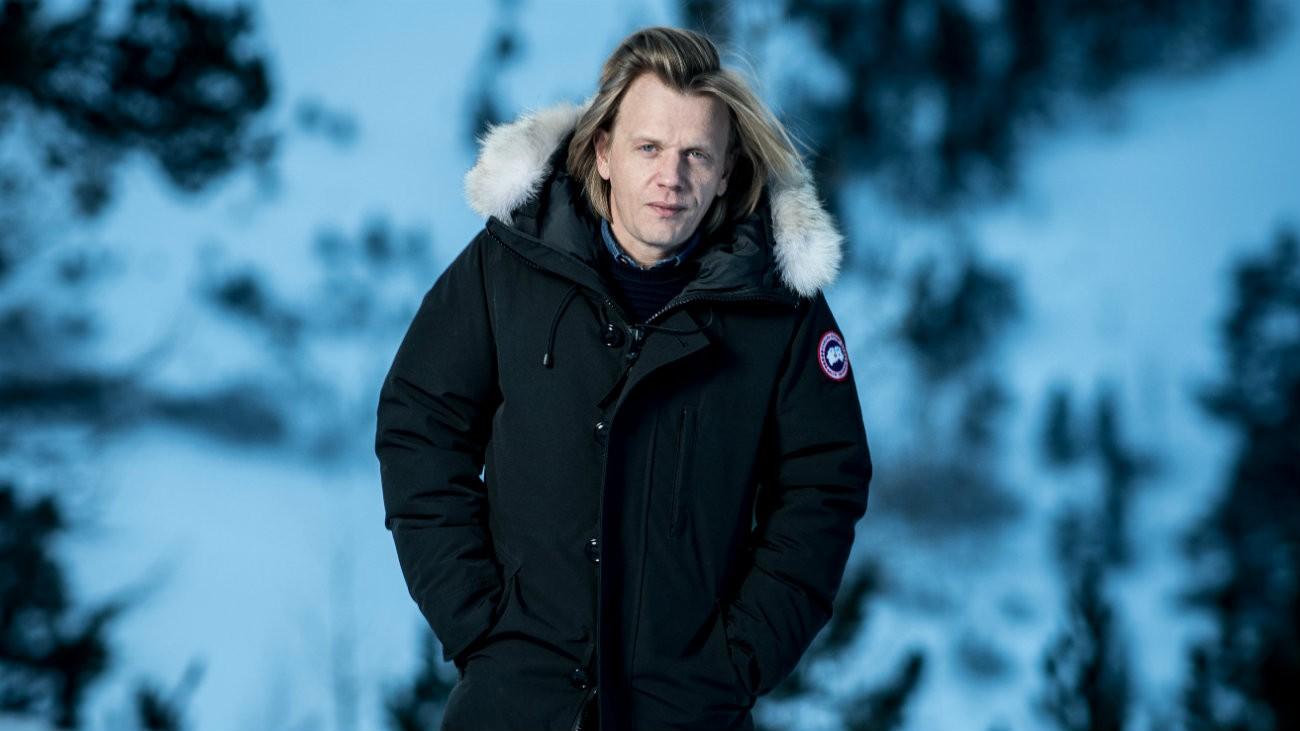 Alex Lutz au festival du film aux Arcs, en décembre 2018 -