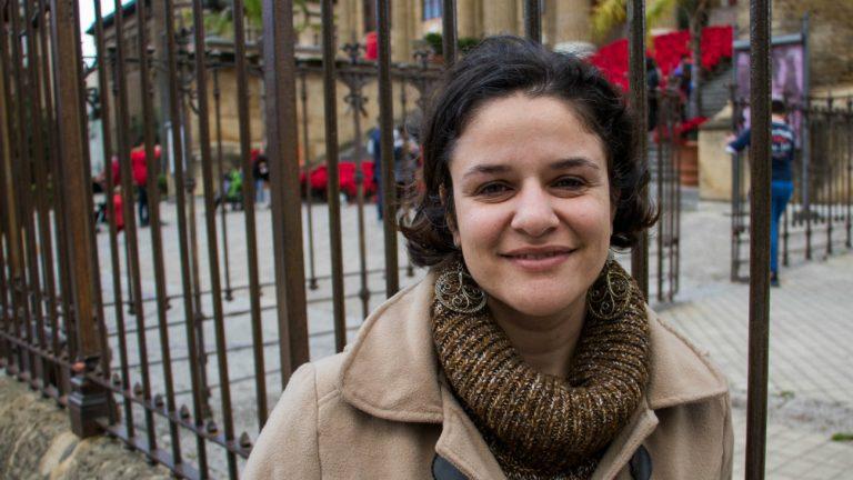 Rafaela Pascoal, médiatrice culturelle auprès des exilé.e.s pour Arcigay, à Palerme -