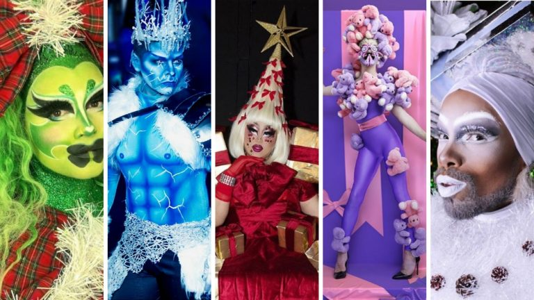 looks noel fetes 2018 drag queens drag kings