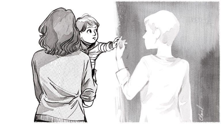« On se bat contre un mur » : l'interminable combat des mères sociales pour être reconnues - Illustration de Carole Maurel / Komitid