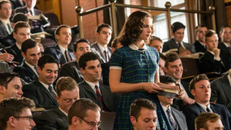 Felicity Jones est Ruth Bader Ginsburg dans « Une femme d'exception », réalisé par Mimi Leder - TDC