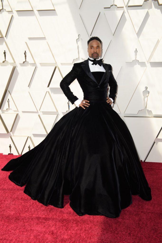 Billy Porter sur le red carpet lors de la cérémonie des Oscars - Kyusung Gong ©A.M.P.A.S.