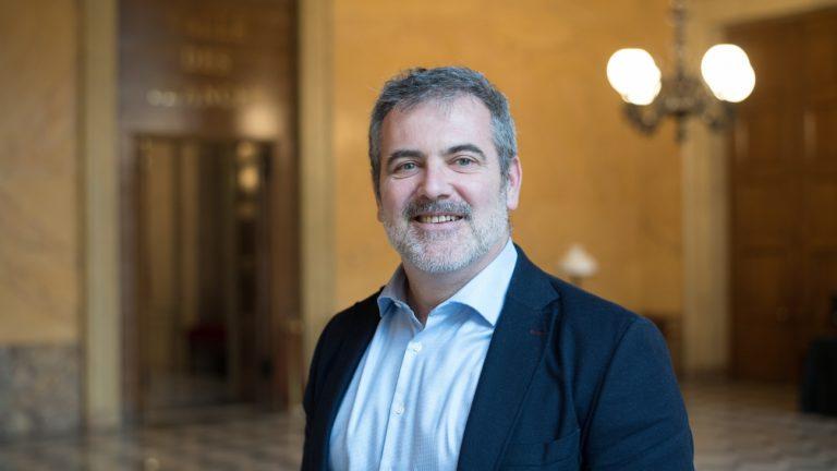 Raphaël Gérard à l'Assemblée nationale, le 7 février 2019 -
