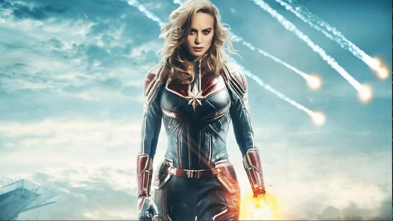 Brie Larson, dans « Captain Marvel », de Anna Boden et Ryan Fleck - Marvel