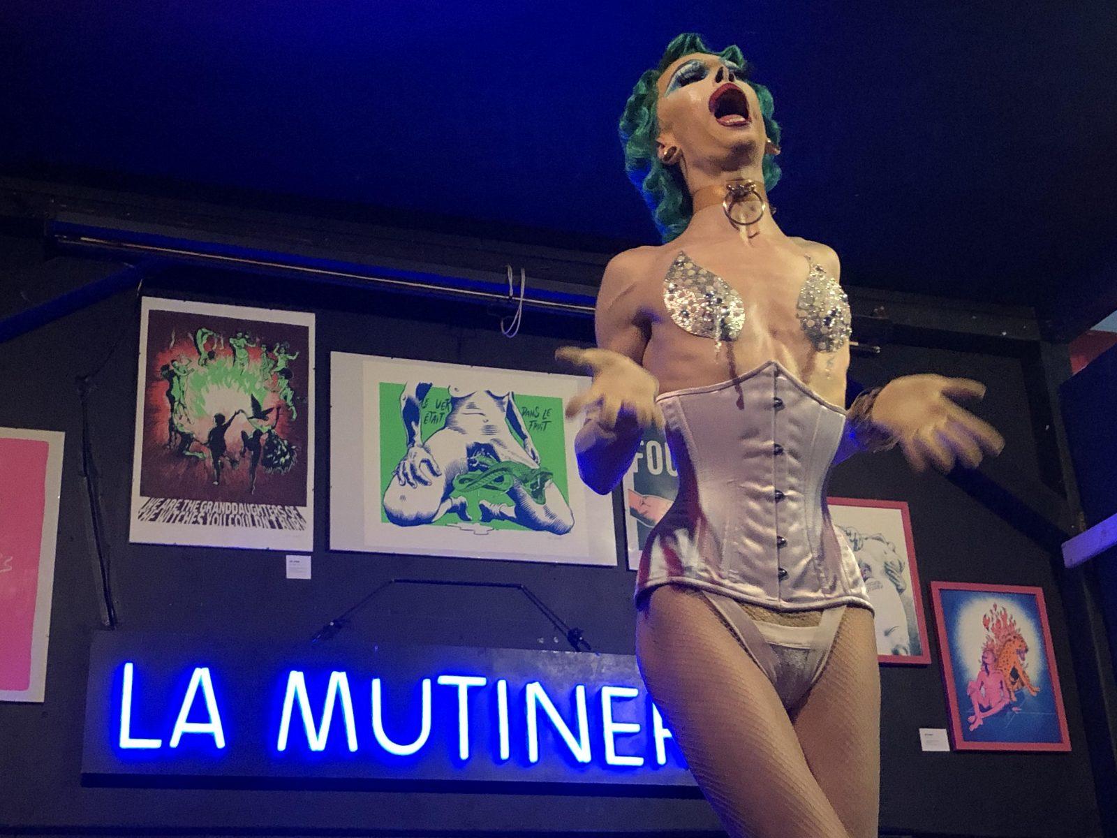 Medusa performe à la Mutinerie - Emilie Laystary