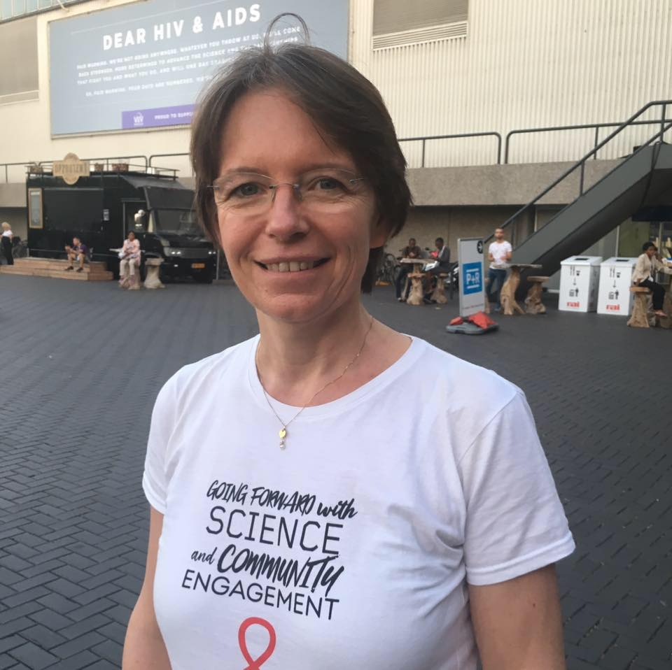 Florence Thune, directrice générale de Sidaction - Facebook