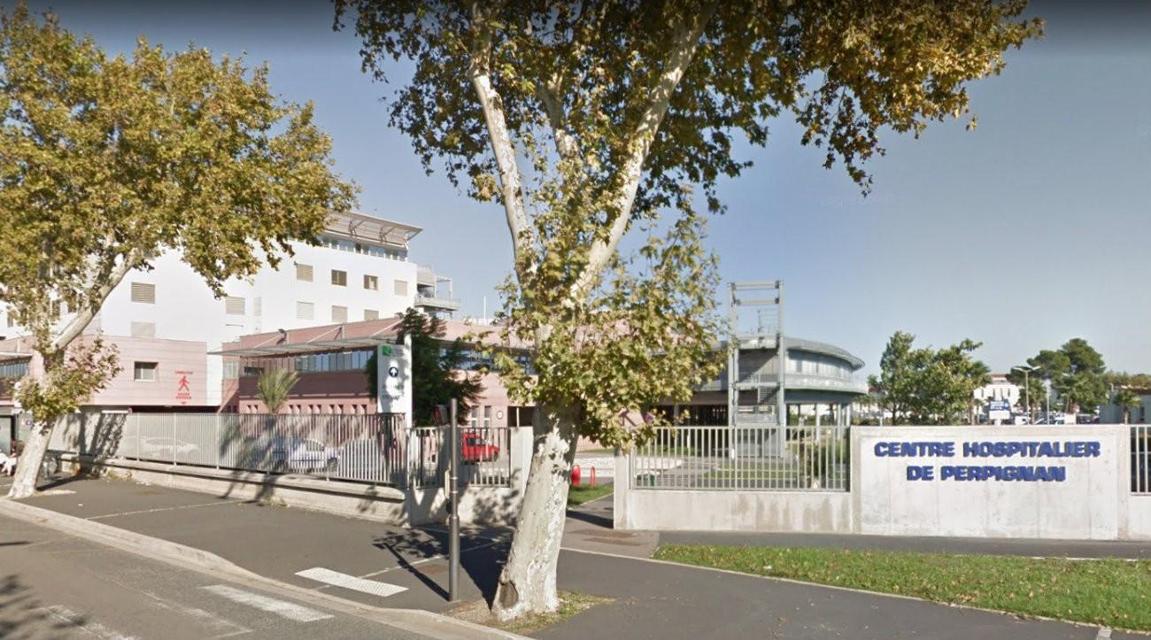 L'hôpital de Perpignan - Capture d'écran Google Street View