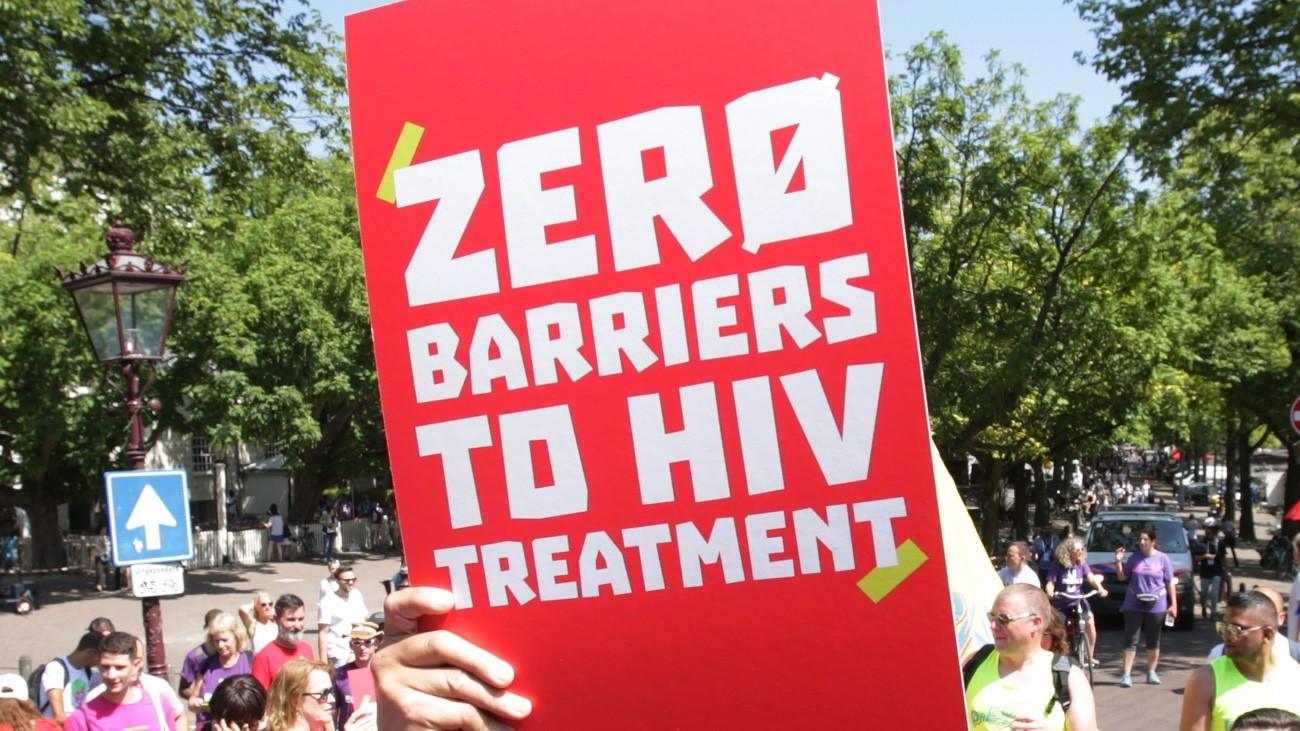 zero barriers to hiv treatment